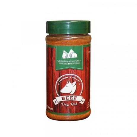 Green Mountain Grills rub beef