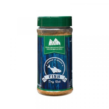 Green Mountain Grills rub Fish