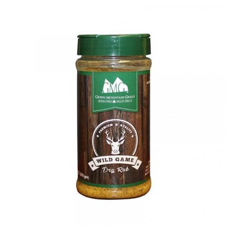 Green Mountain Grills rub Wild Game
